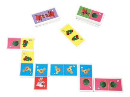 Семейная настольная игра Умка Домино Ми-ми-мишки