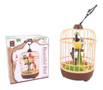 Интерактивная игрушка Shantou Gepai Попугай с клеткой