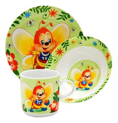 Набор посуды LORAINE Пчёлка 3шт