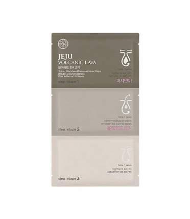 Патчи для очищения кожи THE FACE SHOP Jeju Volcanic Lava 3-Step Blackhead Remover Nose
