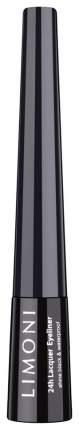 Подводка для глаз LIMONI Matt Eyeliner 01 Black 2,5 мл