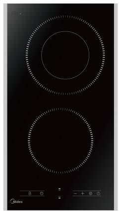 Встраиваемая варочная панель электрическая Midea MCH 32329 FX Black
