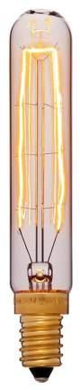 Лампа накаливания E14 40W трубчатая золотая 054-188