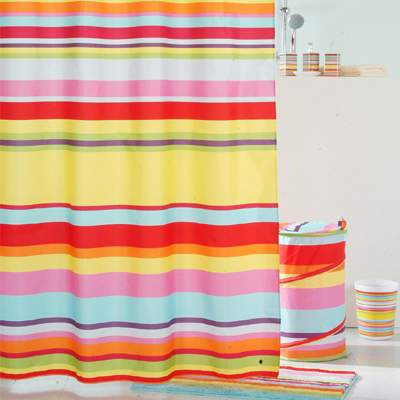 Штора для ванной IDDIS Summer Stripes