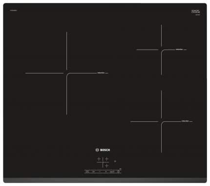 Встраиваемая варочная панель индукционная Bosch PUC631BB1E Black