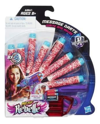 Стрелы игрушечные Nerf Rebelle Message Darts