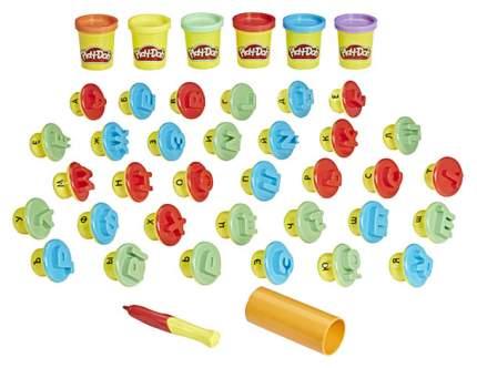 Игровой набор Hasbro Play-doh Буквы и язык C3581