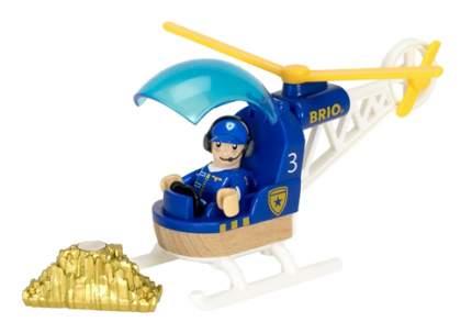 Полицейский Вертолет Brio 33828