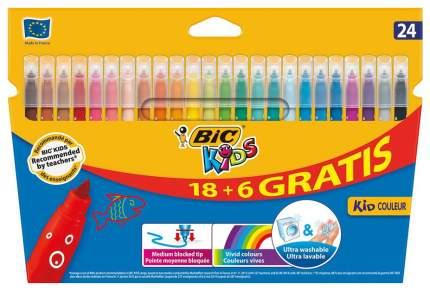 Набор фломастеров BIC Kid Couleur 12+6 цветов