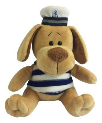 Мягкая игрушка Teddy Собака морячок, 15 см