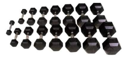 Гантельный ряд Body Solid D-05 от 2,5 до 50 кг