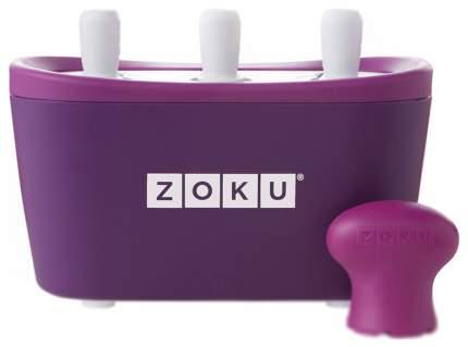 Мороженица Zoku Triple Quick Pop Maker Фиолетовый