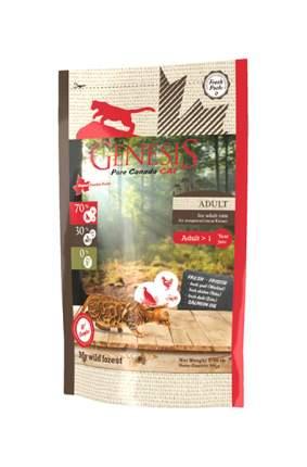 Сухой корм для кошек Genesis Pure Canada My Wild Forest, утка, курица, перепел, 0,34кг