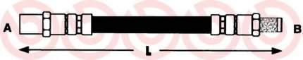 Шланг тормозной системы BREMBO для T85017