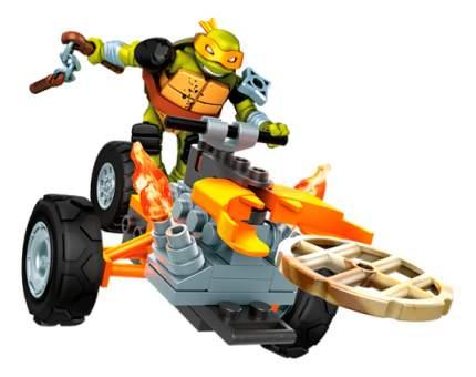 Конструктор пластиковый Mega Bloks Teenage Mutant Ninja Turtles.Mikey Stealth Tour Trike