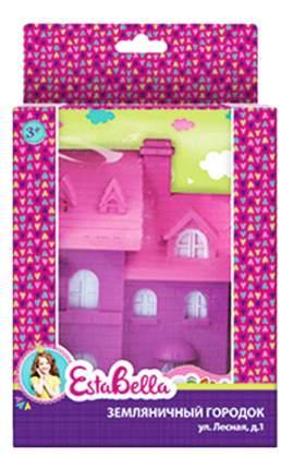 Кукольный дом EstaBella Земляничный городок Улица Лесная, дом 1