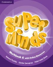 Super Minds 6 WB + Onl Res