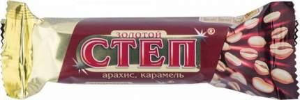 Батончик глазированный Золотой Степ арахис-карамель 50 г