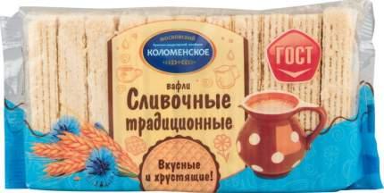 Вафли сливочные Коломенское традиционные 220 г