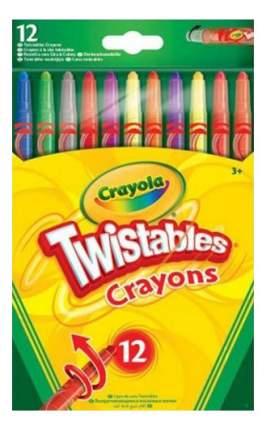 Восковые мелки Crayola Восковые мелки 12 штук