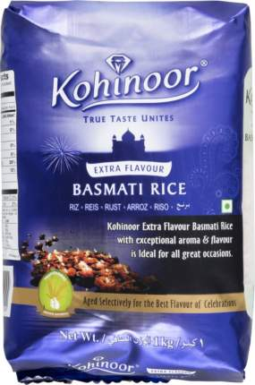 Рис басмати Kohinoor extra flavour 1 кг