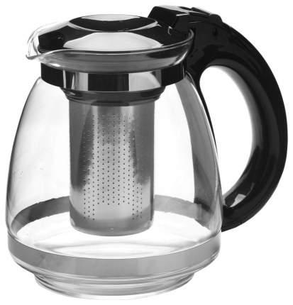 Заварочный чайник Mayer&Boch 27669 Прозрачный, серебристый, черный