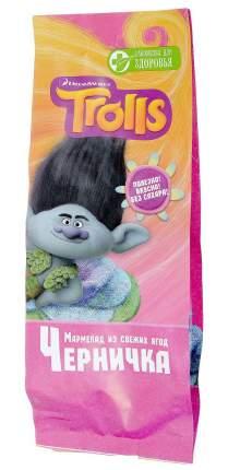 Мармелад Лакомства для здоровья trolls черничка детская коллекция 105 г