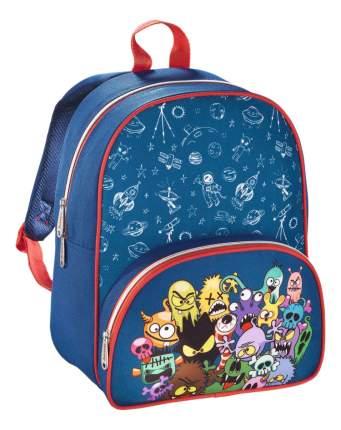 Рюкзак детский Hama Дошкольный Monsters синий красный 00138028