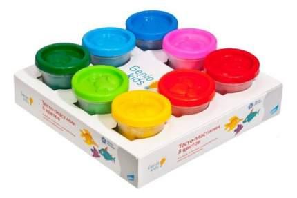 Тесто-пластилин Genio Kids Тесто-пластилин, 8 цветов по 50 г
