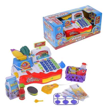 Игровой набор Кассовый аппарат со звуком Play Smart Б79517
