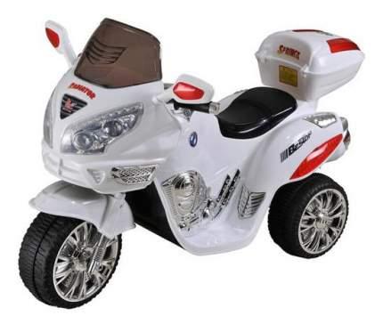 Электромобиль Moto белый RIVERTOYS