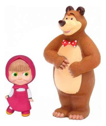 Игрушки для ванной Маша и Медведь Играем вместе 3R-35RMM