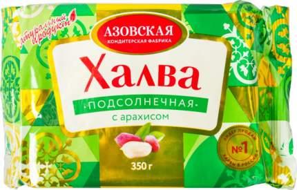Халва подсолнечная  Азовская кондитерская фабрика с арахисом 350 г