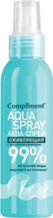 Аква-спрей Compliment оживляющий для лица и тела 200 мл