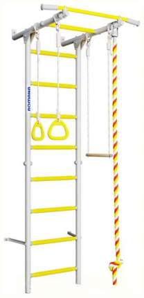 Детский спортивный комплекс Romana Karusel S1 (ДСКМ-2С-8,06,Г3,490,18-13) белый прованс