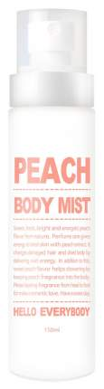 Средство для тела Hello Everybody Peach Body Mist 150 мл