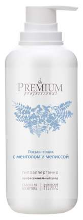Тоник для лица Premium Professional С ментолом и мелиссой 400 мл