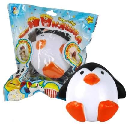 Игрушка-антистресс 1Toy М-м-мняшка Squishy Сидящий пингвин Т12420