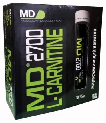 L-carnitine MD 2700 10 амп. по 25 мл нейтральный
