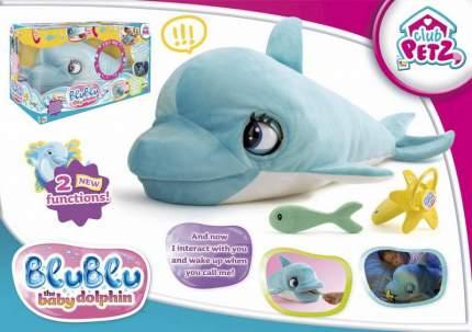 Мягкая игрушка IMC Toys Дельфин интерактивный Blublu со звуковыми эффектами