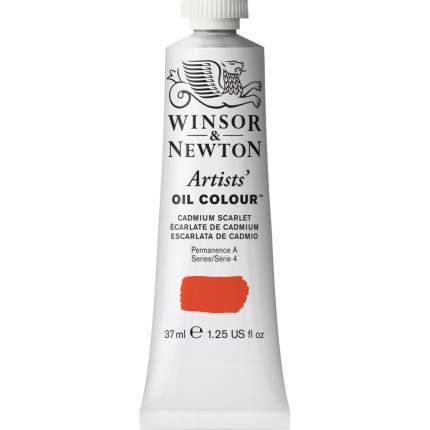 Масляная краска Winsor&Newton Artists алый кадмий 37 мл