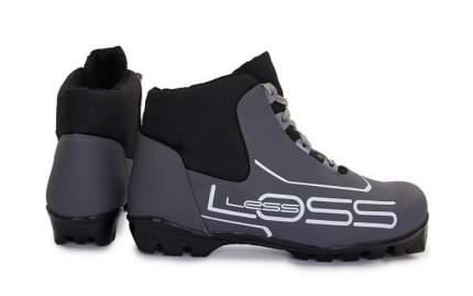 Ботинки для беговых лыж Spine Loss NNN 2018, black/grey, 40