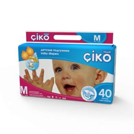 Подгузники Ciko размер М 6-11 кг 40 шт.