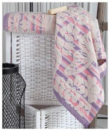 Полотенце махровое Mariposa Karna 70x140 розовый