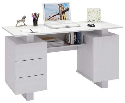 Письменный стол MFMaster Ренцо-3 МСТ-СРЕ-03-##-16 Белый