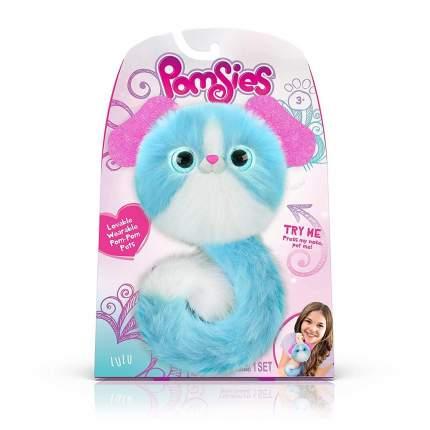 Интерактивная игрушка Skyrocket Pomsies (Помси) голубого цвета