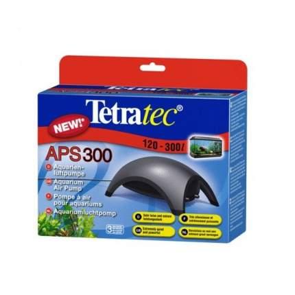Компрессор для аквариума Tetra АРS 300 двуканальный, черный, 300 л/час