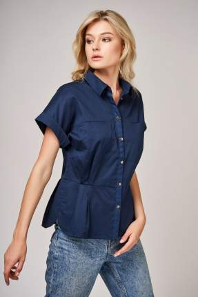 Блуза женская Laete 61572 синяя L