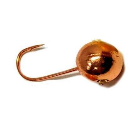 Мормышка вольфрамовая Dixxon-Russia Шар с отверстием, 4 мм, медь