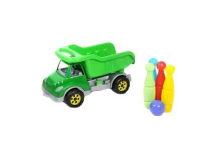 Машинка Самосвал с кеглями